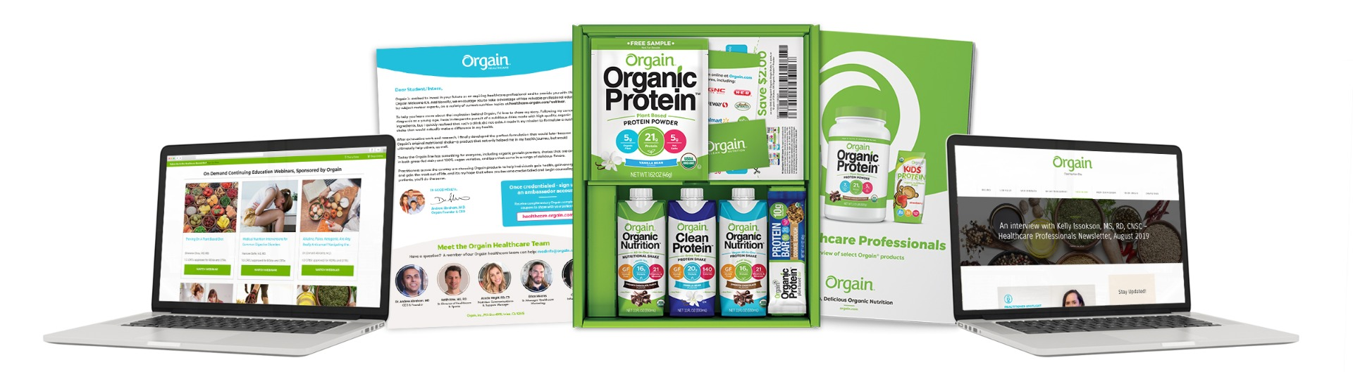 Orgain Healthcare Student/Intern Welcome Kit