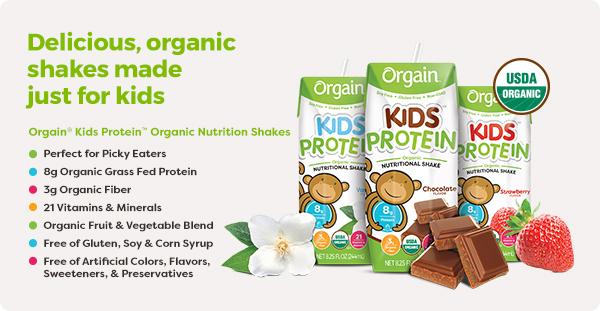 Orgain Organic Kids Shakes